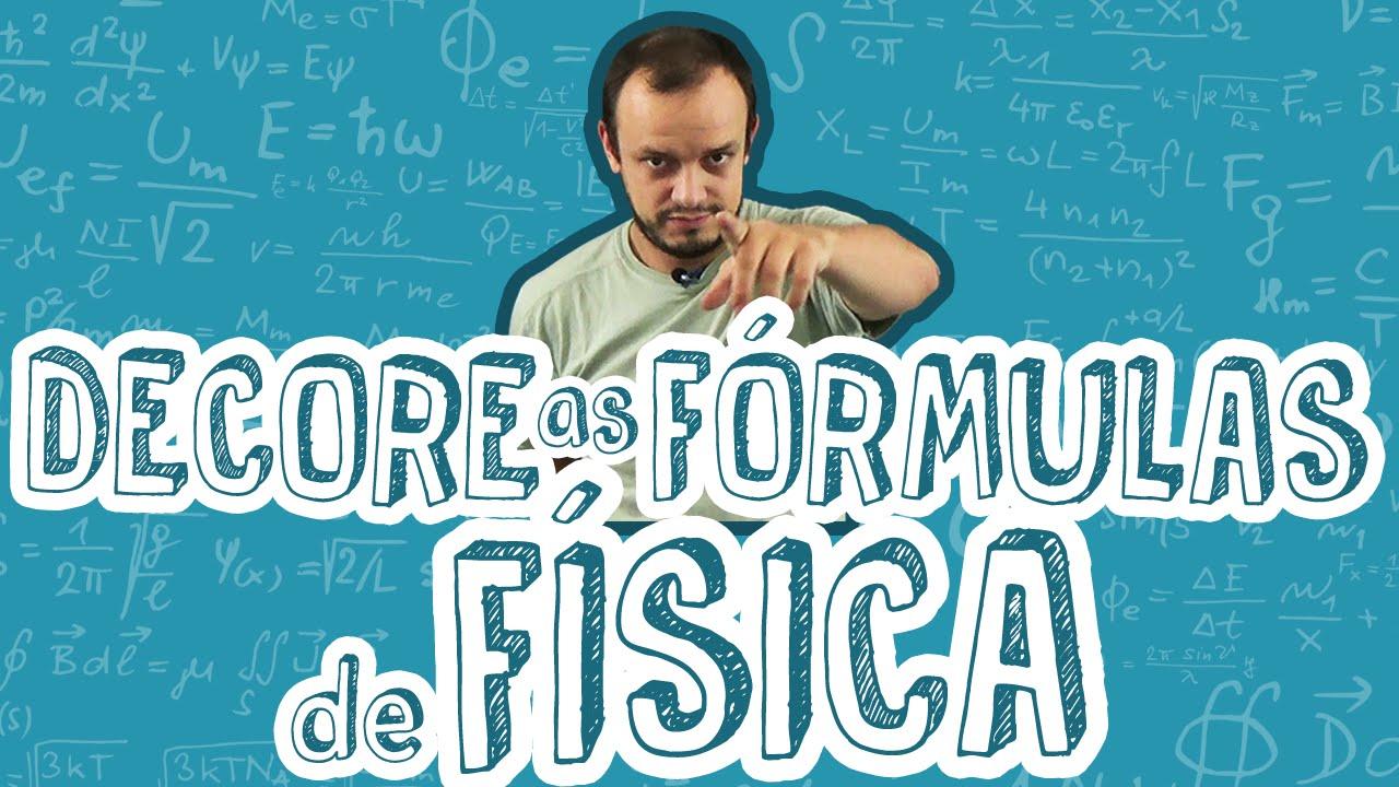 Decore as fórmulas de Física de um jeito divertido! - YouTube
