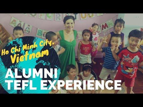 Teaching English in Vietnam with Jacklynn - International TEFL Academy Graduate