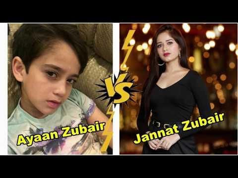 Jannat Zubair Musically  V/S Ayaan Zubair TIKTOK Videos
