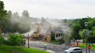 Demolition of Bachelor Officer Quarters