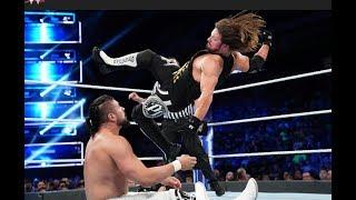 WWE CHAMPION AJ STYLES VS ANDRADE