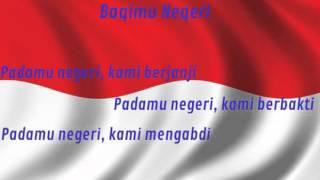 Gambar cover Bagimu Negeri instrumental + lirik