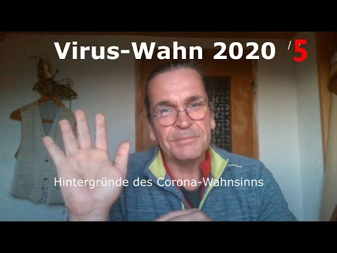 Virus-Wahn 2020 /5. Update 30.3.