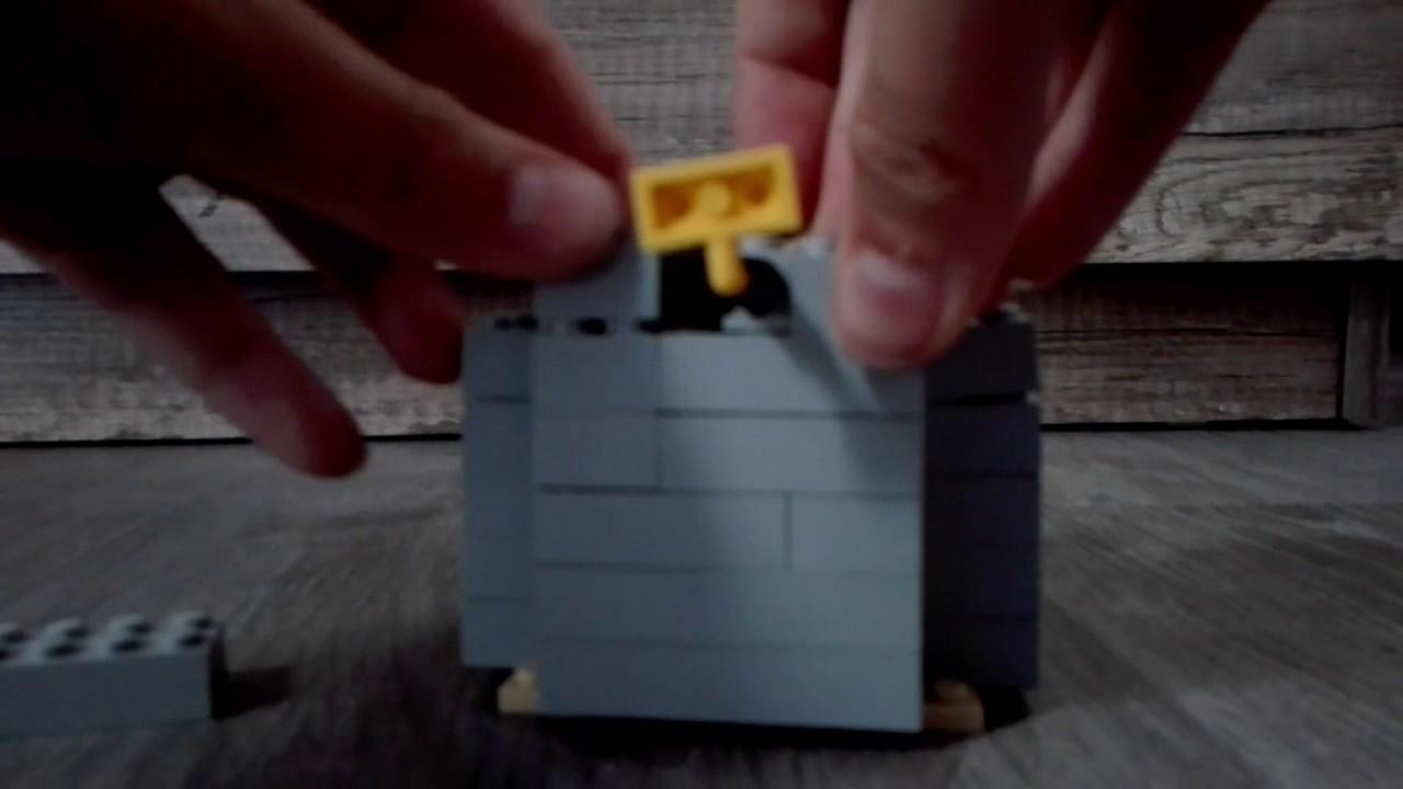 Jak Zbudować Kubek Na Kredki Z Lego Youtube