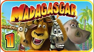 Madagascar Walkthrough Part 1 (PS2, XBOX, Gamecube, PC) Level 1 - King of New York [HD]