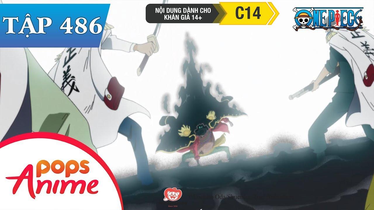 One Piece Tập 486 – Màn Trình Diễn Bắt Đầu. Râu Đen Tiết Lộ Âm Mưu – Đảo Hải Tặc