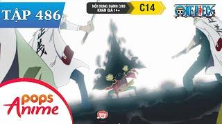 One Piece Tập 486 - Màn Trình Diễn Bắt Đầu. Râu Đen Tiết Lộ Âm Mưu - Đảo Hải Tặc