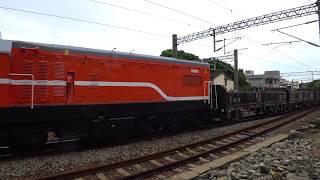 7201次貨物列車通過大林車站