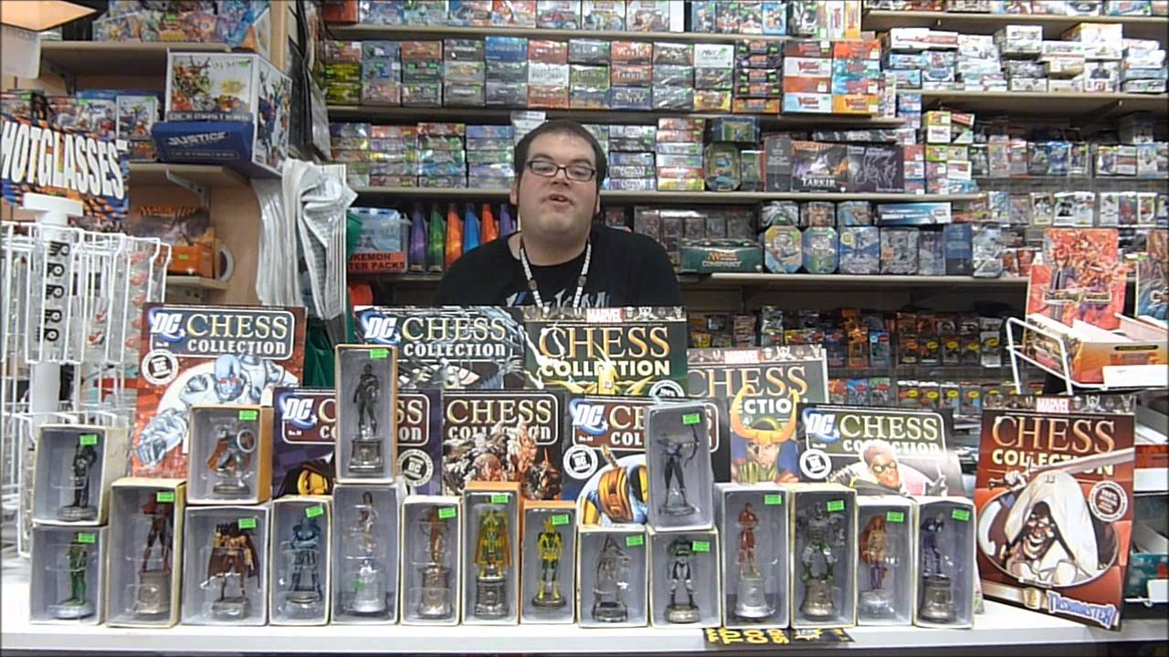 Marvel & DC Chess Collections by Eaglemoss at West Edmonton Coin ...