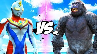 KING KONG VS ULTRAMAN DYNA - EPIC BATTLE