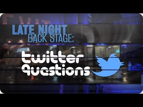 LNJF Backstage: Twitter Questions with Godfrey