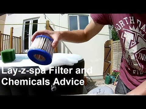 Lay-z Spa Chemicals And Filters Advice After 3 Weeks Of Ownership