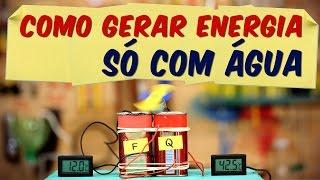 COMO GERAR ENERGIA só com água (GERADOR TERMOELÉTRICO)