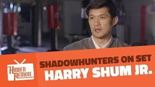 Shadowhunters On Set: Harry Shum Jr. Teases Season 2B
