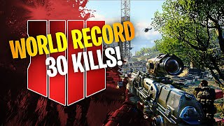 CoD Blackout   WORLD FIRST 30 KILL SOLOS WIN RECORD