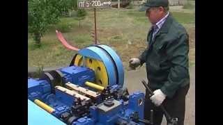 Автомат проволочно гвоздильный АГ4116 - Станок для производства гвоздей(, 2012-11-26T07:38:07.000Z)