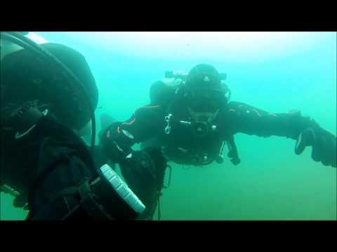 GUE-BE cleanup dive @ Galderse Meren 12/04/14