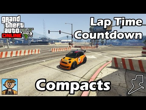 Fastest Compacts (2017) - GTA 5 Best Fully Upgraded Cars Lap Time Countdown