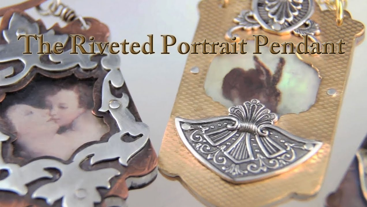 The riveted portrait pendant trailer jewelry tips with for Nancy b fine jewelry