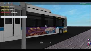 (Roblox) MTA NYCT Bus: 2007 Orion VII OG Hybrid #6842 On the B65