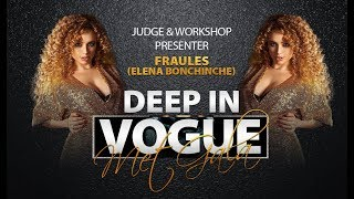 Fraules (Elena Bonchinche) | Judge&Workshop presenter | Deep in Vogue. Met Gala