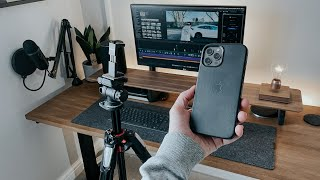 My YouTube Setup: How I Make My YouTube Videos with an iPhone!
