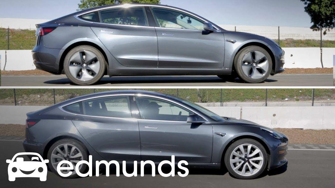 2017 Tesla Model 3 Track Test Update Edmunds