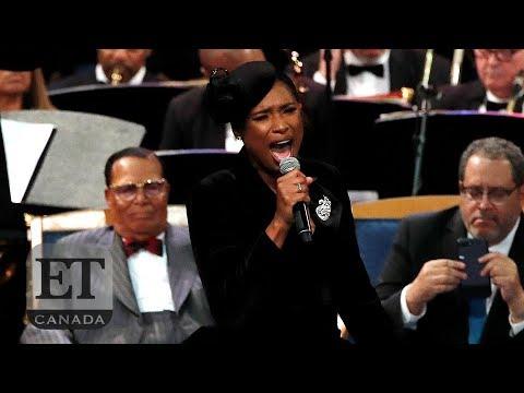 Jennifer Hudson's Performance For Aretha Franklin