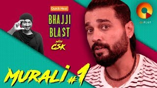 Murali Vijay Part 1 | Quick Heal Bhajji Blast With CSK | QuPlayTV thumbnail
