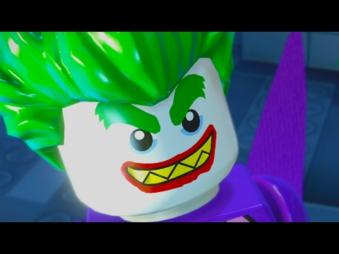 The LEGO Batman Movie Game All Cutscenes 2017 Full Movie