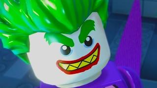 The LEGO Batman Movie Game All Cutscenes 2017 Full Movie