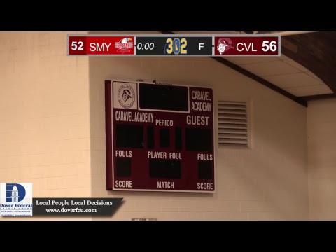 Smyrna visits Caravel Boys Basketball LIVE from Caravel Academy