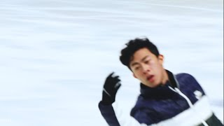 Nathan Chen | USchamps20 SP morning practice