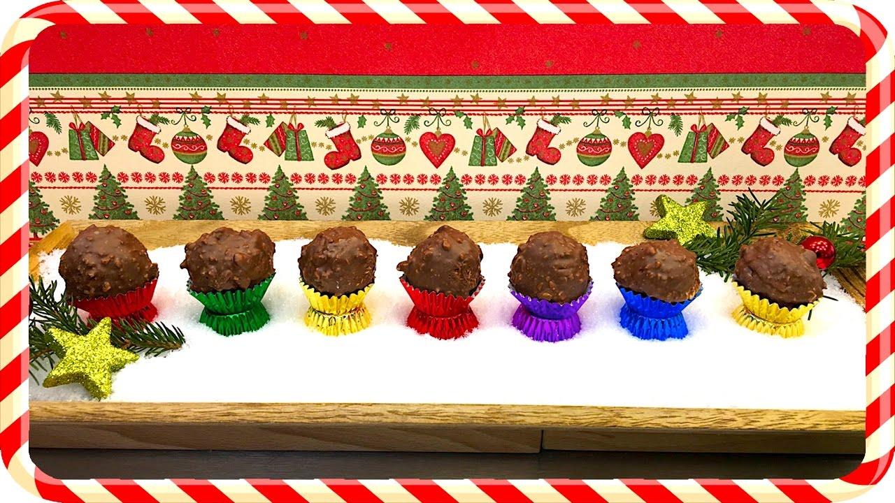 Weihnachtsdeko Ferrero.Nejlepší A Nejjednodušší Recept Na Domácí Ferrero Rocher