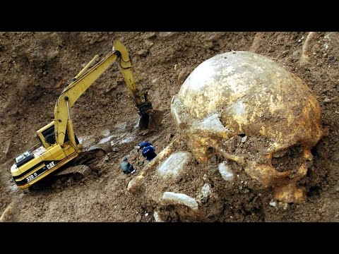 northern caucasus giant human skeleton - youtube, Skeleton