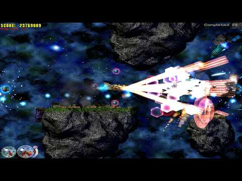 Let's play Jets'n'Guns GOLD - Mission 35 - Asteroids 1  