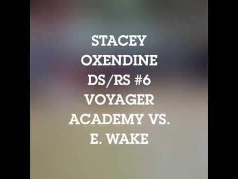 Stacey Oxendine #6 Voyager Academy vs. East Wake Academy