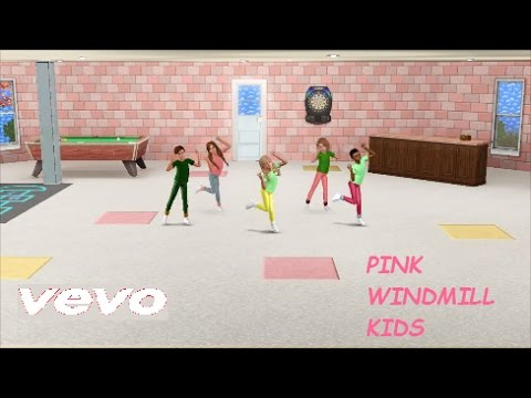 Sims 3 Music Video - Pink Windmill Kids: Can