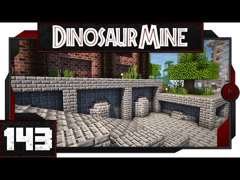 Minecraft - Dinosaur Mine - #143 - Down to the Shore