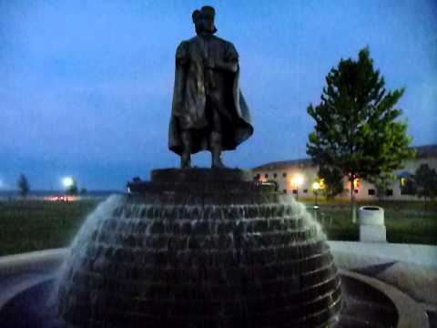 Sights and Sounds of the city- Kenosha, WI- Columbus Statue