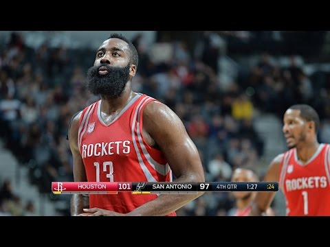 Houston Rockets vs San Antonio Spurs - Full Game Highlights | November 9, 2016 | 2016-17 NBA Season