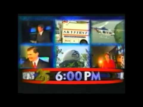 WEHT TV News 25 At 6PM Open And Talent Bumps 2001 2006
