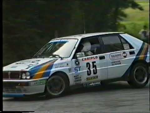 Rally della Lana 1992 PS Prascorsano Parte 2 inversione del ponticello
