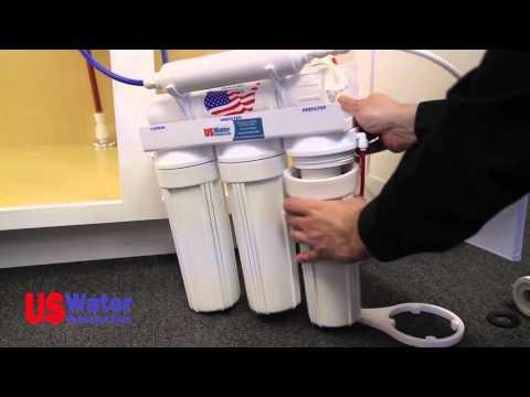 alkaline water hookup