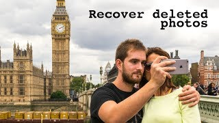How to recover a deleted photo on iPhones
