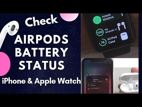 How to Check Airpods Battery Life on iPhone and Apple Watch [AirPods 2]