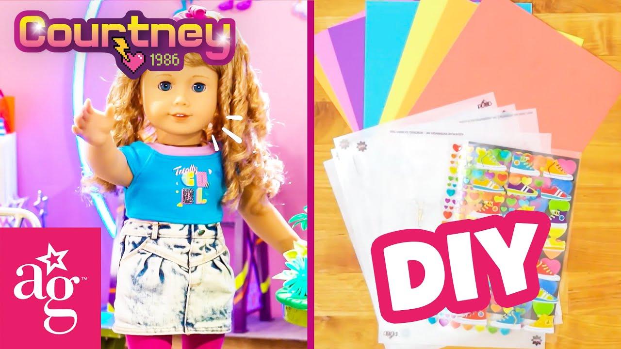 Courtney's Corner DIY Marathon Ep. 1-4 | Compilation | Doll DIY | @American Girl