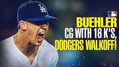 Walker Buehler dominates Rockies with 16 K's, Dodgers walk-off!!