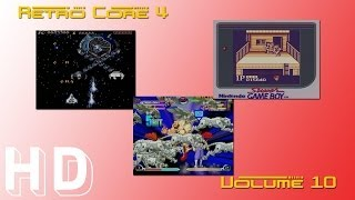 Retro Core 4 - Volume 10 - Double Dragon GameBoy - Marvel VS Capcom 2 DC - Verytex Mega Drive