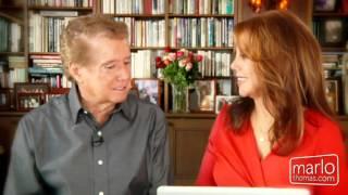 Regis Philbin With Marlo Thomas